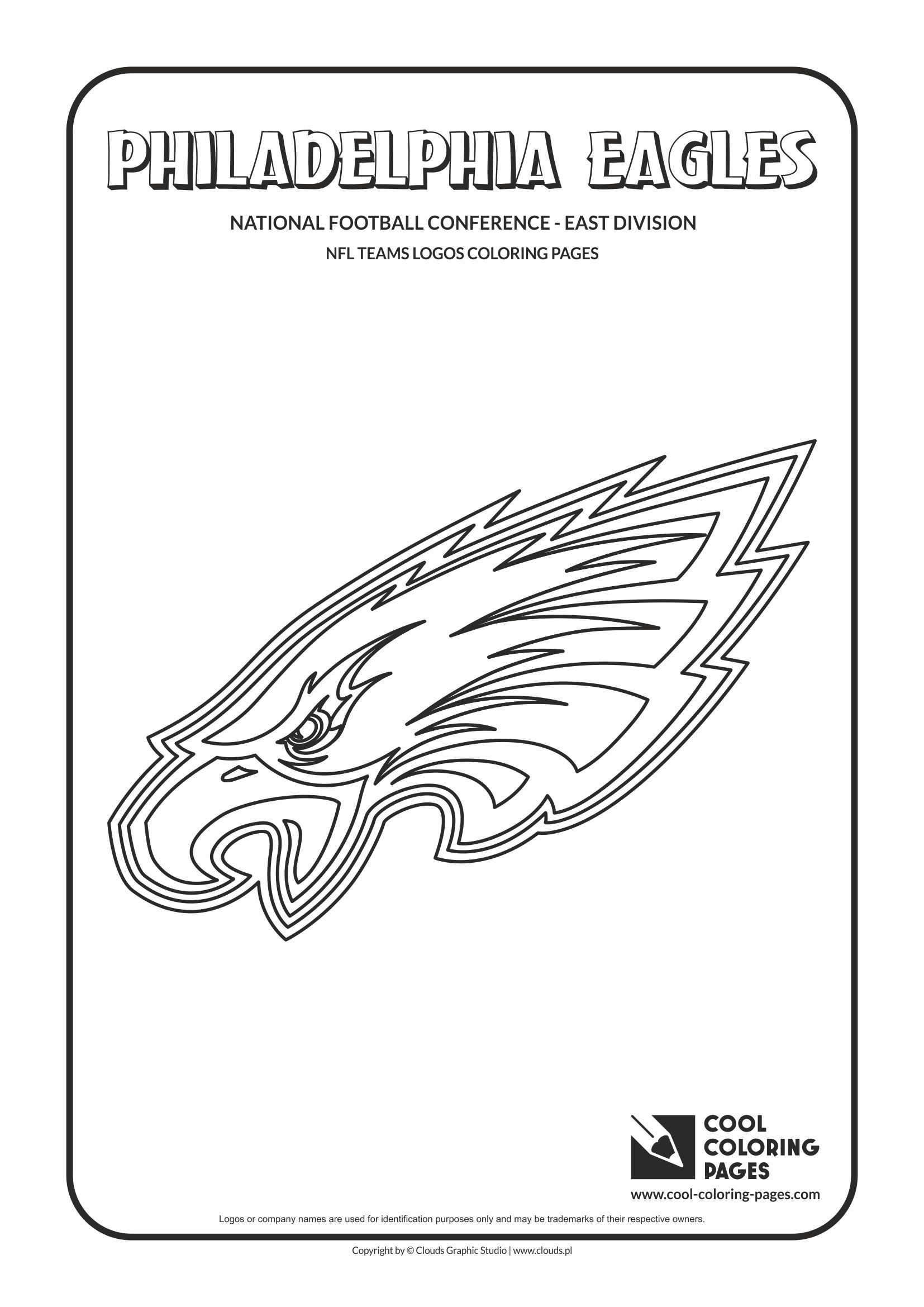 Cool Coloring Pages Philadelphia Eagles