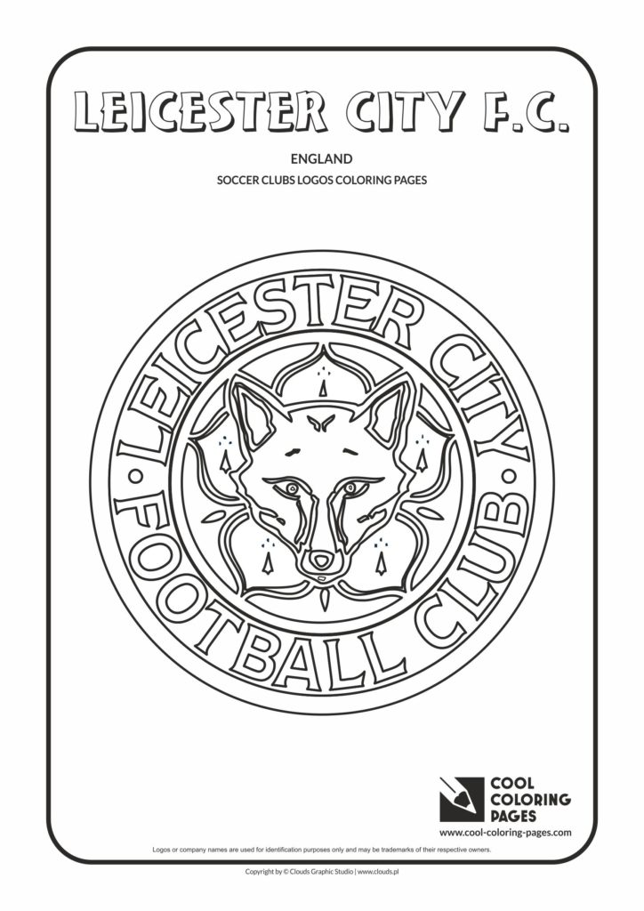Cool Coloring Pages Leicester City F.C. logo coloring page