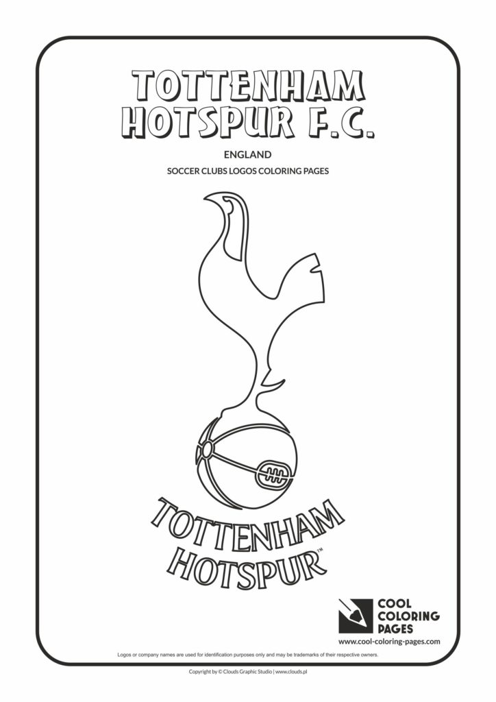 Cool Coloring Pages Tottenham Hotspur F.C. logo coloring