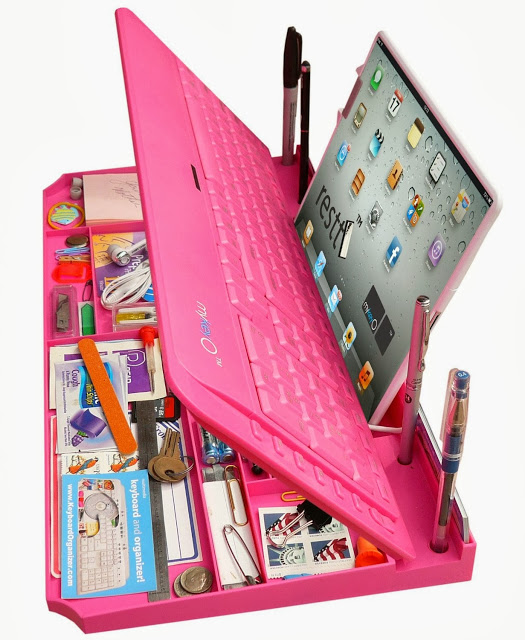 Bluetooth-Multimedia-Keyboard-6Products-in-ONE-iPad-phone-pen-Stand-organizer-More-2