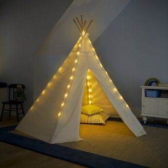 Gift-Idea-Childrens-Cotton-Canvas-Teepee-1