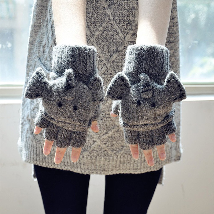 Cool Gift For Girls Elephant Gloves