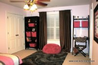 Pink and Brown Teen Girl Bedroom Decorating