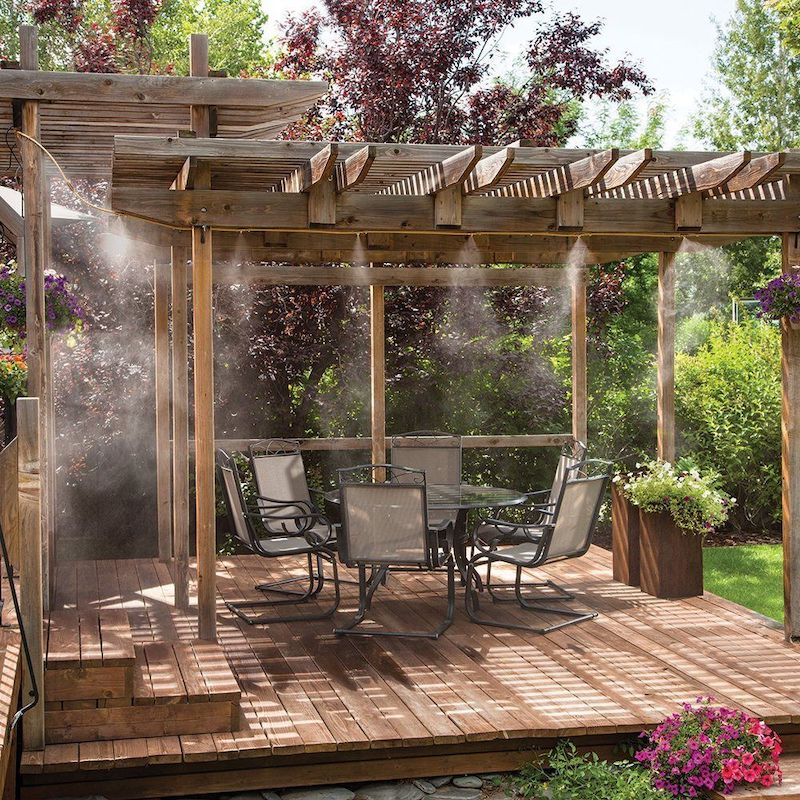 misting systems by cool off outdoor