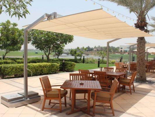 fim flexy aluminum 8 x 16 rectangular offset patio umbrella