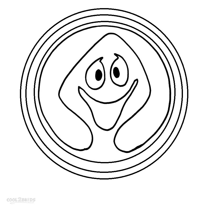 Ghostbusters Printables Coloring Pages