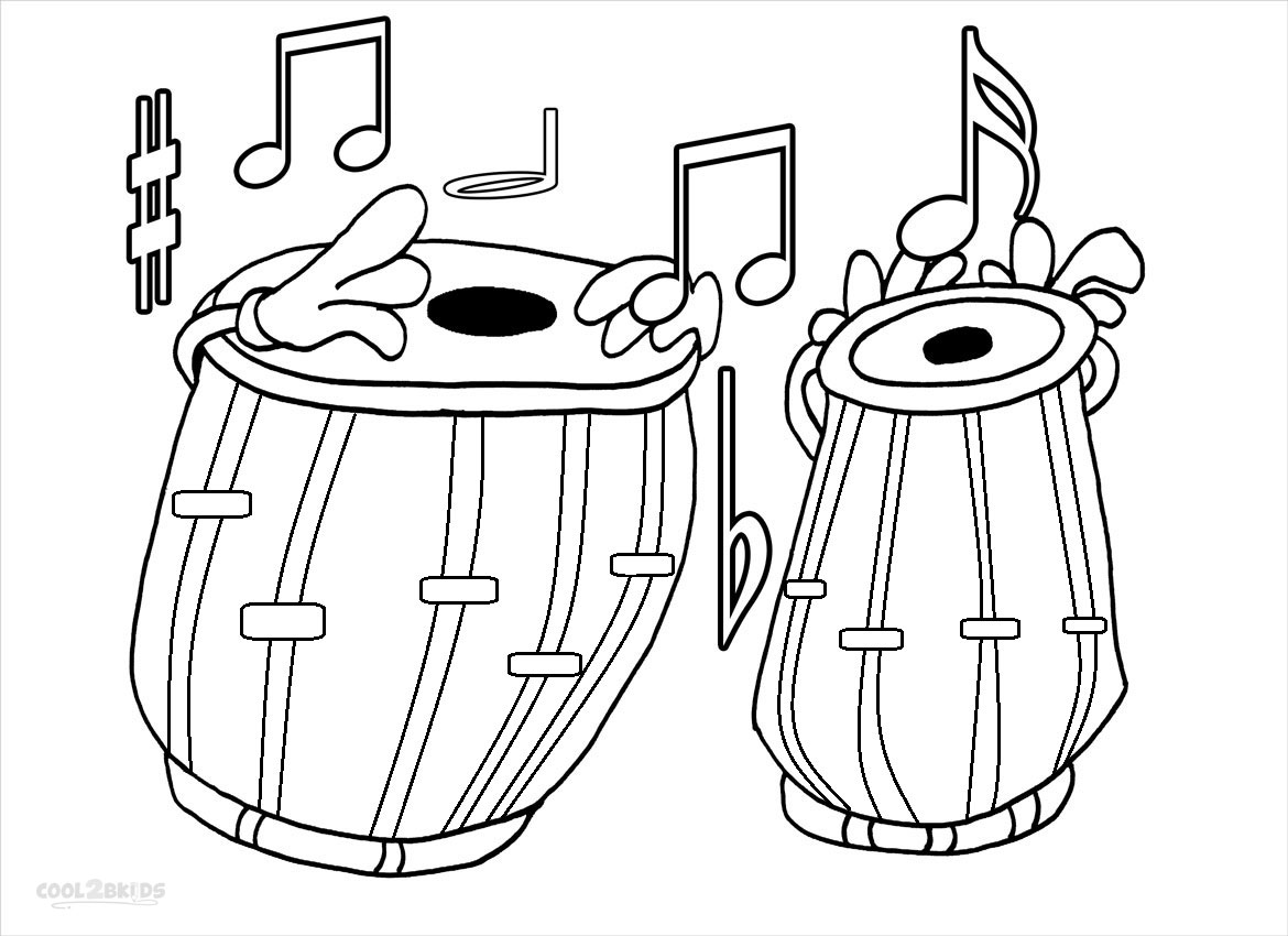 Music Notes Coloring Pages Coloring Home