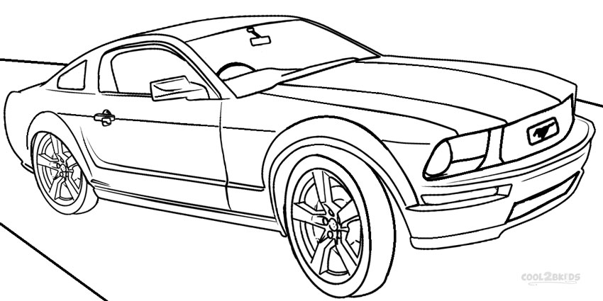 Race Car Outline Clipart Collection