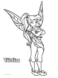 Free coloring pages of disney fairy rosetta