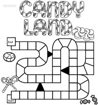 Printable Candyland Coloring Pages For Kids | Cool2bKids
