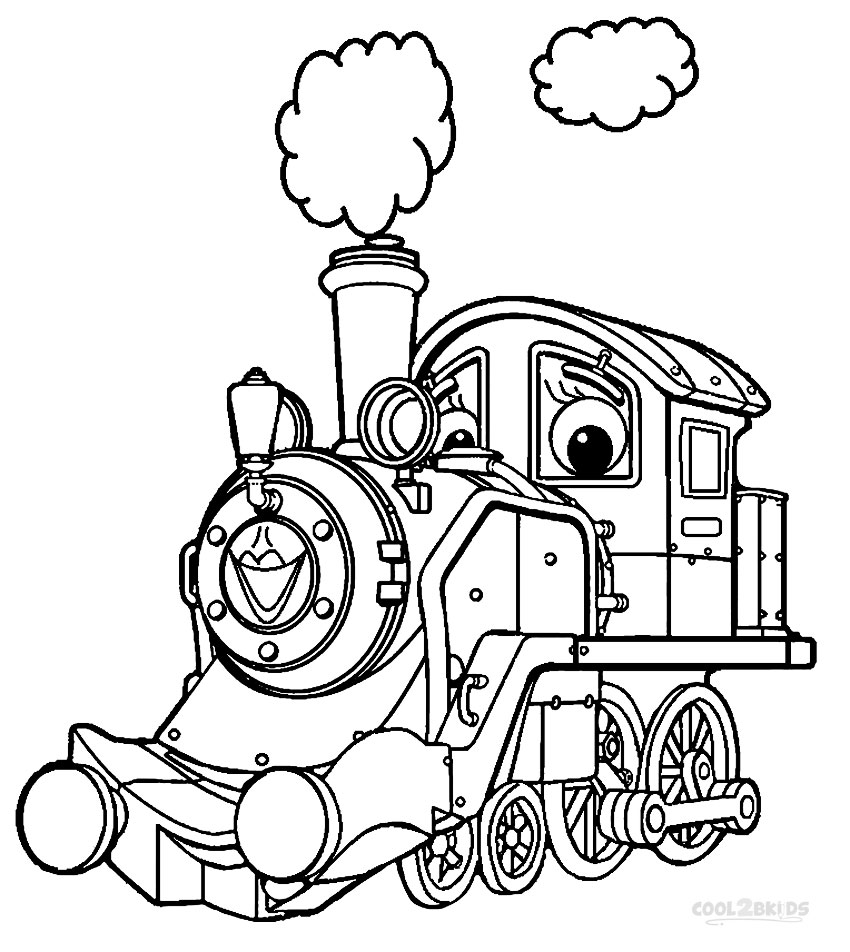 Chuggington Coloring Page Free Coloring Pages Download | Xsibe ...