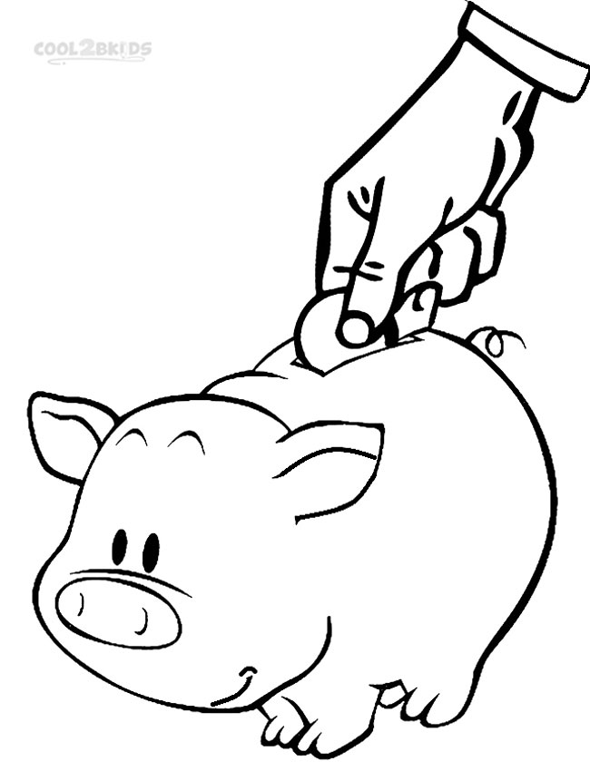 Coins Gold Money Bag Coloring Coloring Pages