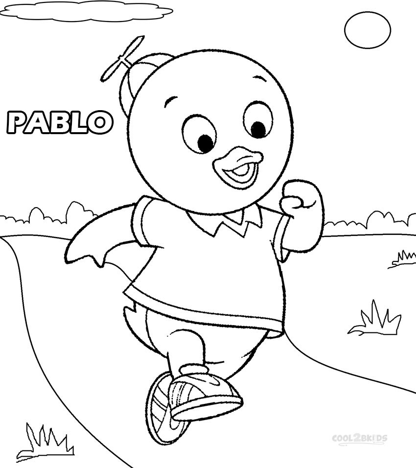Spongebob Characters Coloring Pages