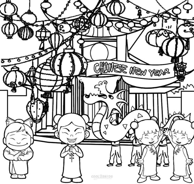 printable chinese new year coloring pages for kids cool2bkids - Chinese New Year Coloring Page