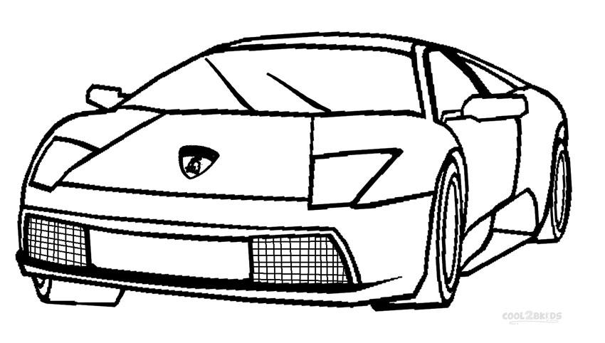 Disegni Da Colorare Lamborghini Aventador