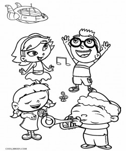 Printable Little Einsteins Coloring Pages For Kids