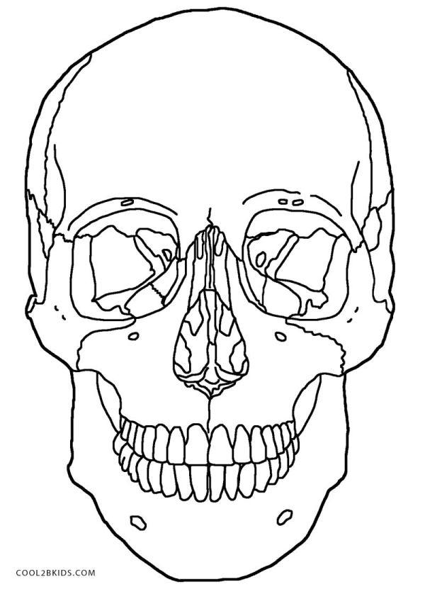 skulls coloring pages # 16