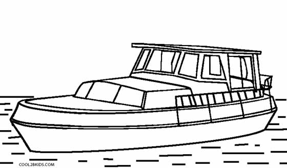 Ferries Print Coloring Pages