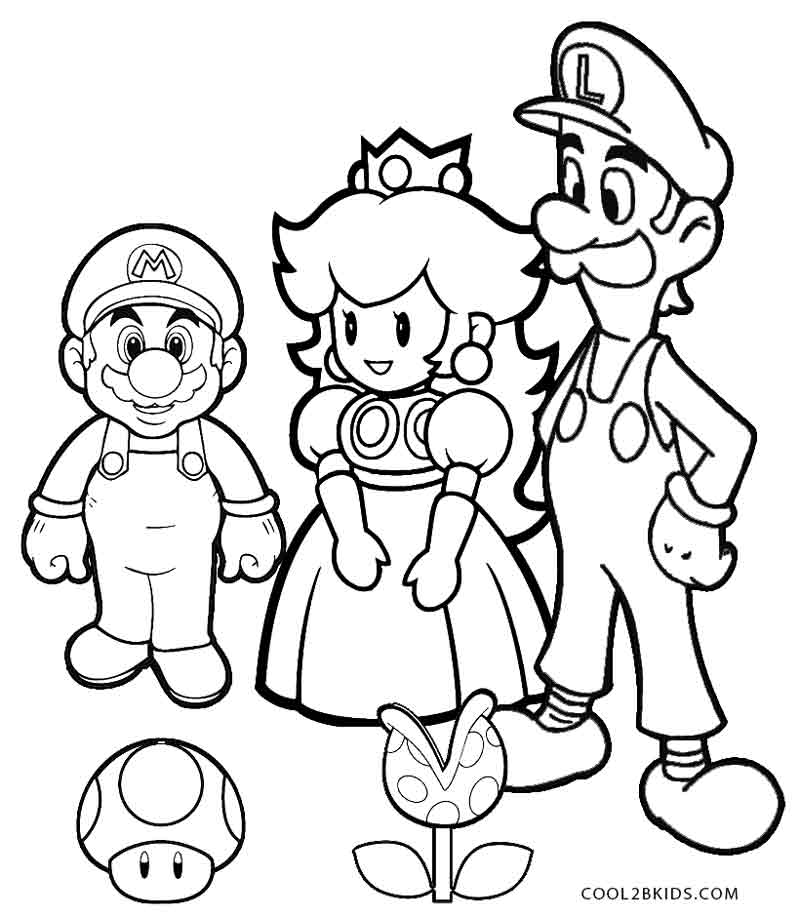 Koopalings Coloring Pages Mario Bros