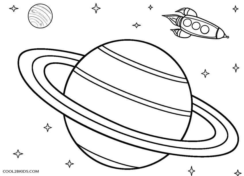 Planet Coloring Pages Printable Coloring Pages