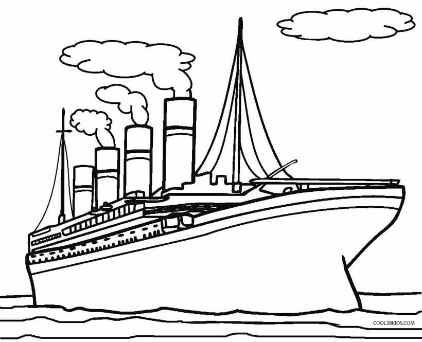 Titanic Facts For Kids Ks1