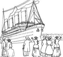 Printable Titanic Coloring Pages For Kids   Cool2bKids ...