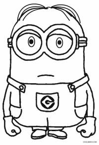 Printable Despicable Me Coloring Pages For Kids | Cool2bKids