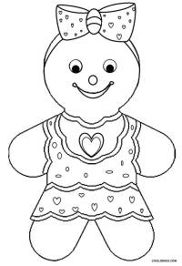 Printable Gingerbread House Coloring Pages For Kids ...