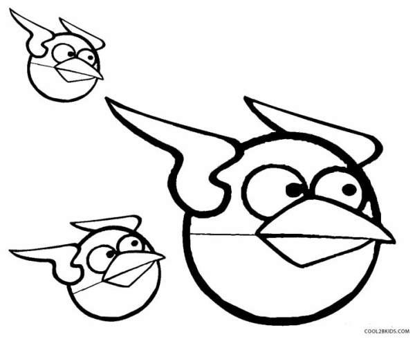 coloring pages angry birds # 10