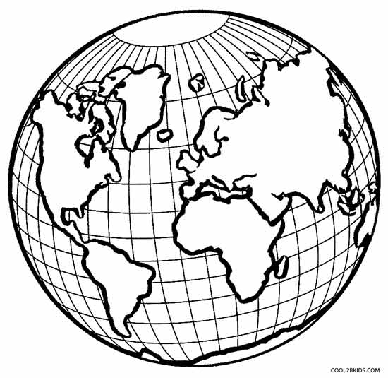 Free coloring pages of the layers of the earth