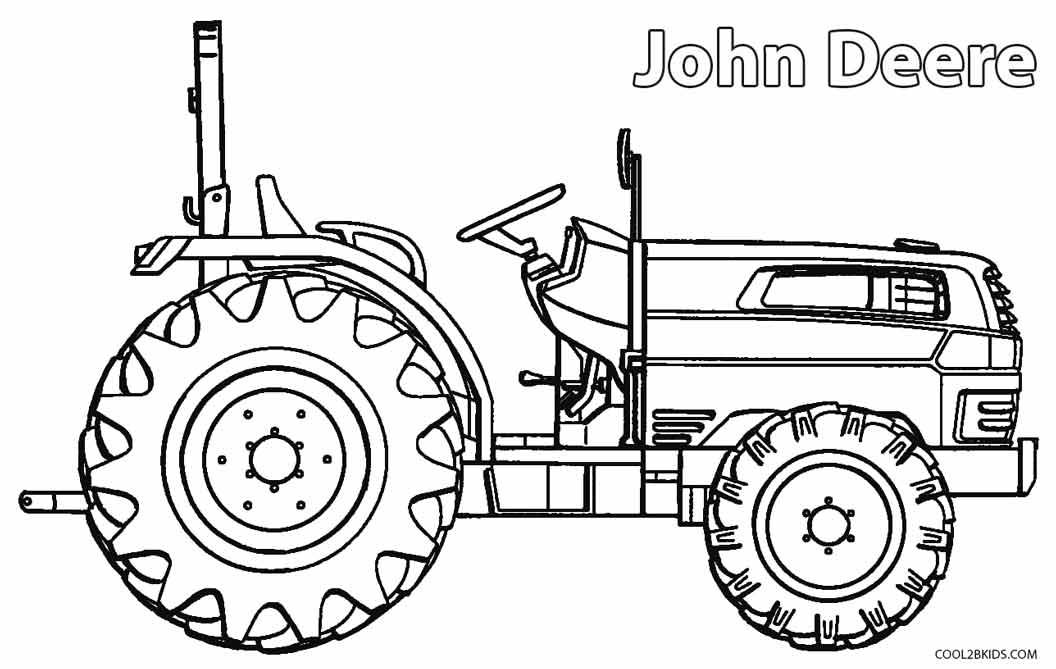 Trekker Kleurplaat Massey Ferguson Auf Geht Es Im Traktor