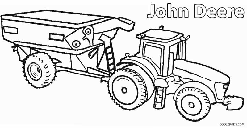 Coloring Pages Bulldozer