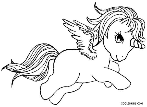 Pegasus Printable Coloring Pages