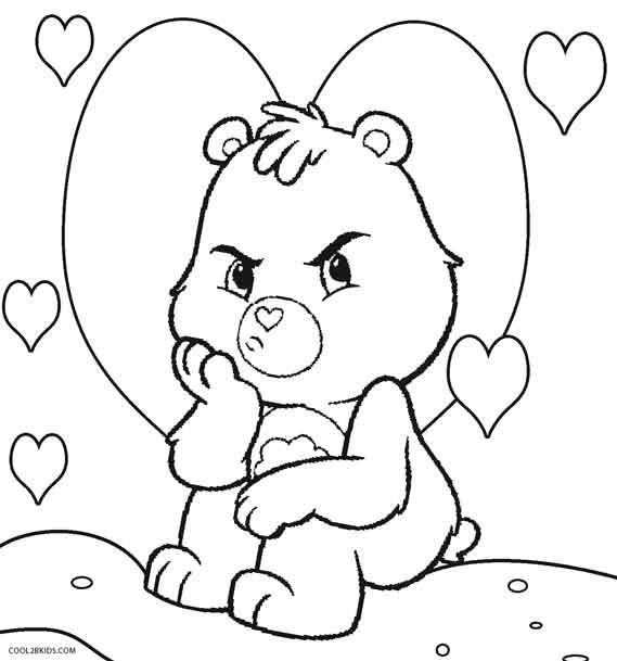 bears coloring pages # 4