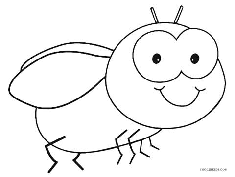 bug coloring page # 1