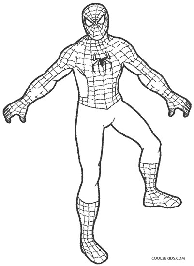 coloring pages of spiderman # 18