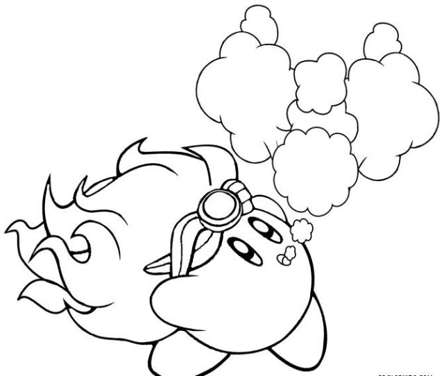 Printable Kirby Coloring Pages For Kids Coolbkids