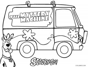 Printable Scooby Doo Coloring Pages For Kids