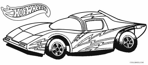 hot wheel coloring pages # 6