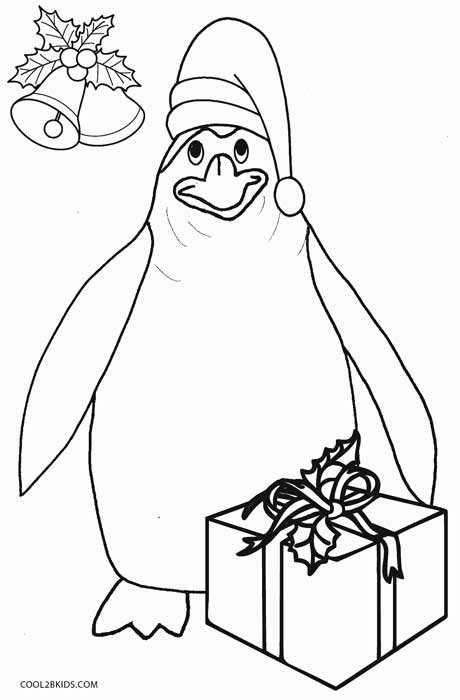 Printable Penguin Coloring Pages For Kids