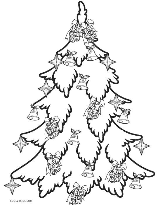 coloring pages christmas tree # 33