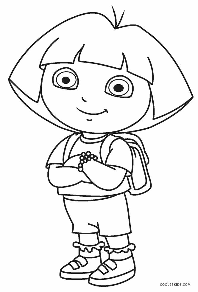 dora coloring valentine easter pages - photo#22