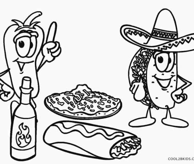 Free Printable Food Coloring Pages For Kids Coolbkids