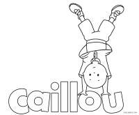 Free Printable Caillou Coloring Pages For Kids | Cool2bKids
