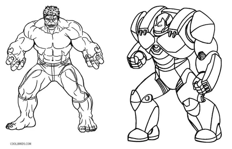Free Printable Iron Man Coloring Pages For Kids Cool2bkids Hulkbuster