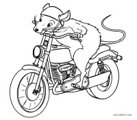 Malvorlagen Motorrad Free Printable Motorcycle Coloring Pages
