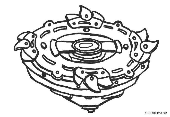 beyblade burst evolution coloring page