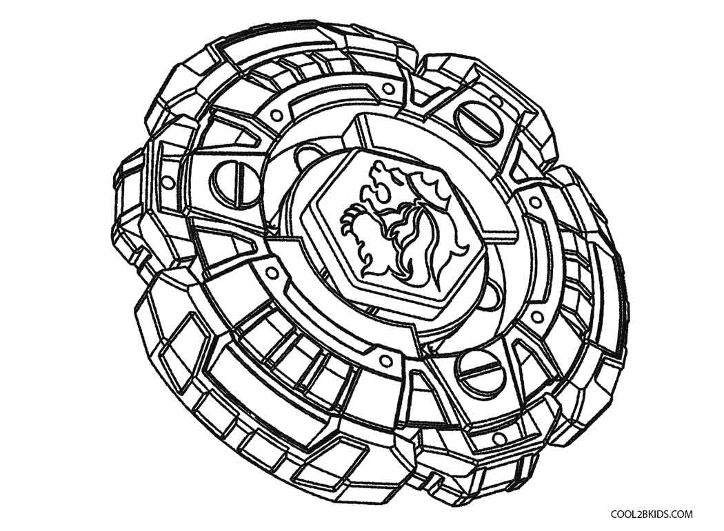 Beyblade Metal Fusion Coloring Pages