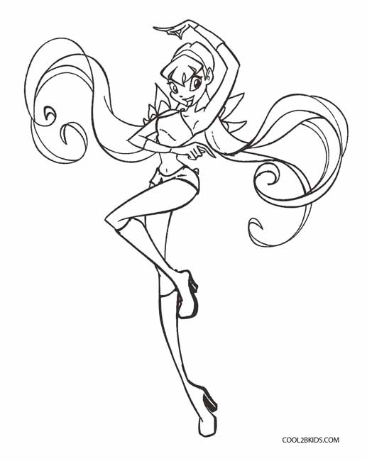 Bloom Believix Coloring Page