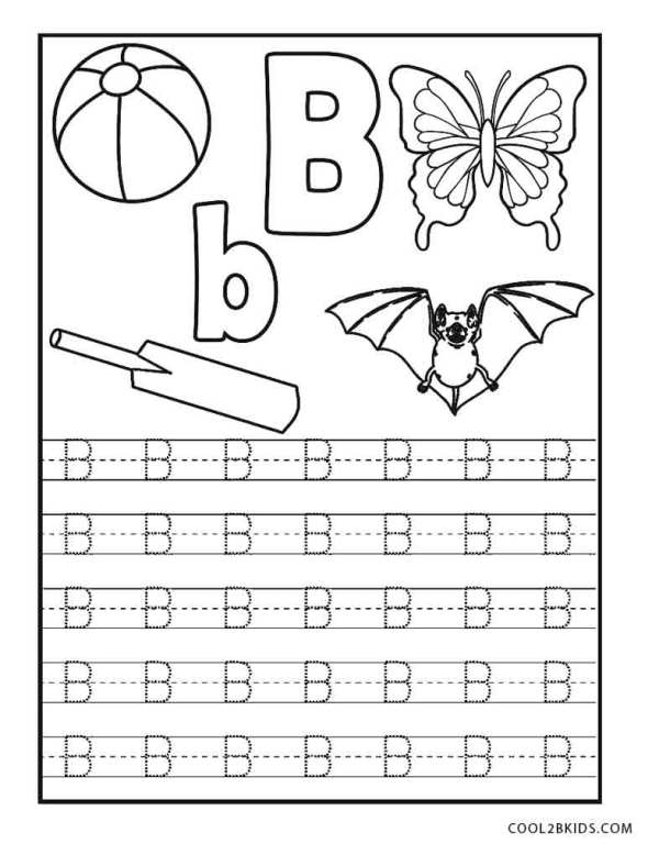 abc coloring page # 23